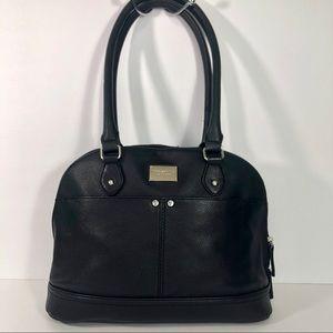 Tignanello Black Hang Bag
